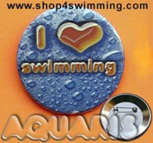 GIBU Button: I love swim