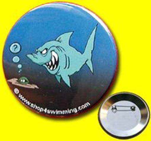 """GIBU Button: """"Shark Cartoon I"""""""