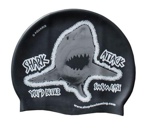 BKSR Aquaris Badekappe SharkV2