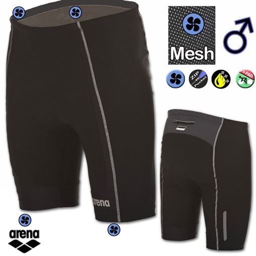 3TSH Men Performance TriShorts