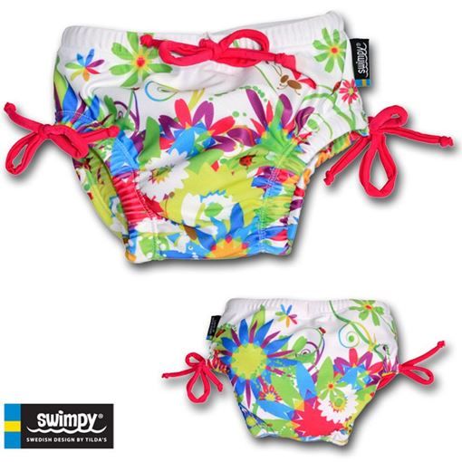 SKBY Babybade Slip Swimpy FLWR