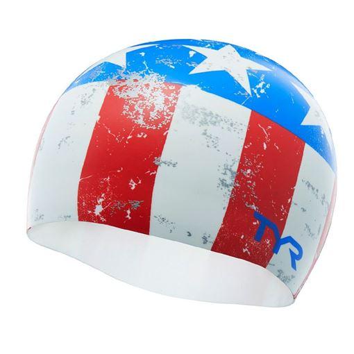 BKSR Swim Cap USA Easy Glider